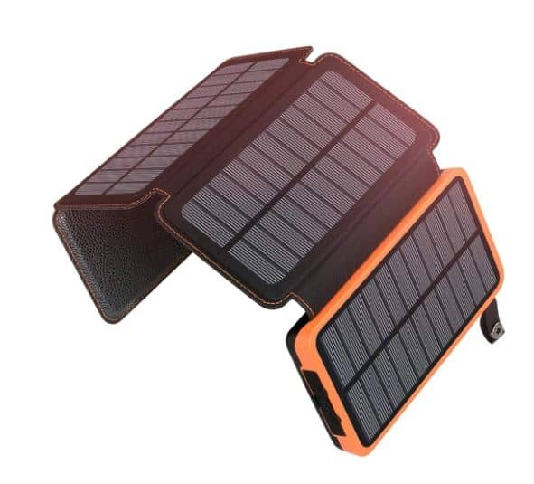 The Fold-up Belt Solar Panel Power Banks