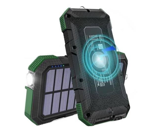 Traditional Portable Solar Panel Based Charger