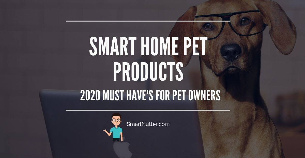 SMART HOME PET PRODUCTS 2020 MUST HAVE's FOR PET OWNERS